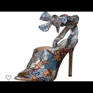 Jessica Simpson Jestella knotted heels- worn once!